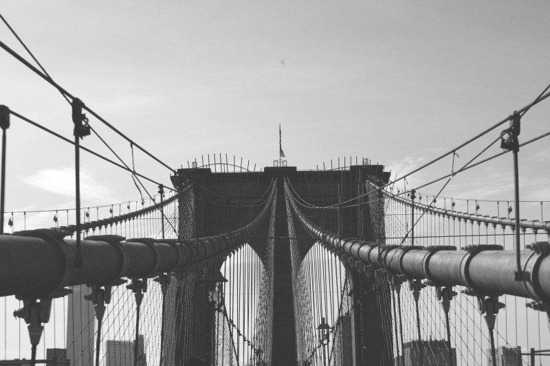 Стальные канаты Бруклинского моста