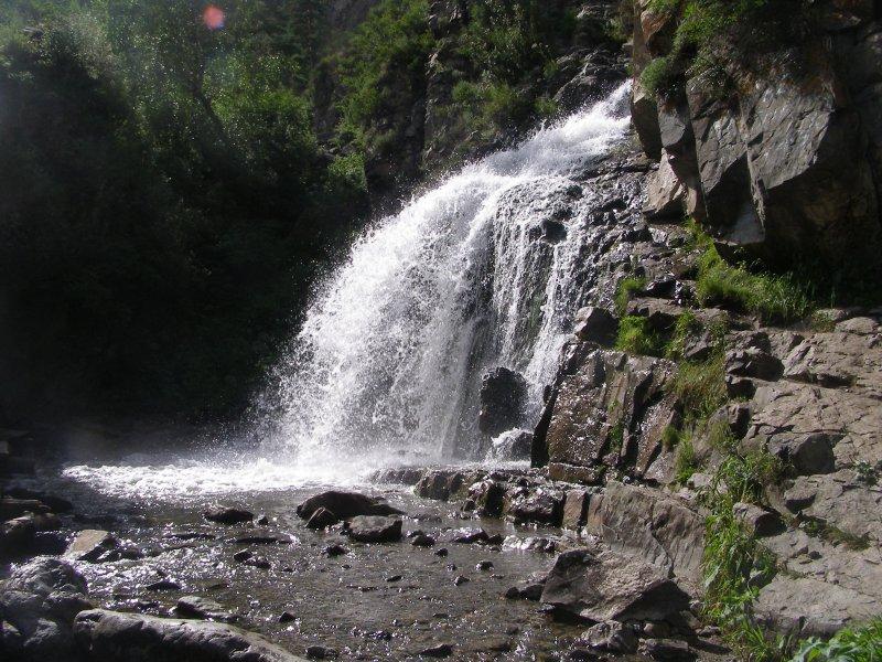 Камышлинский водопад, Алтай