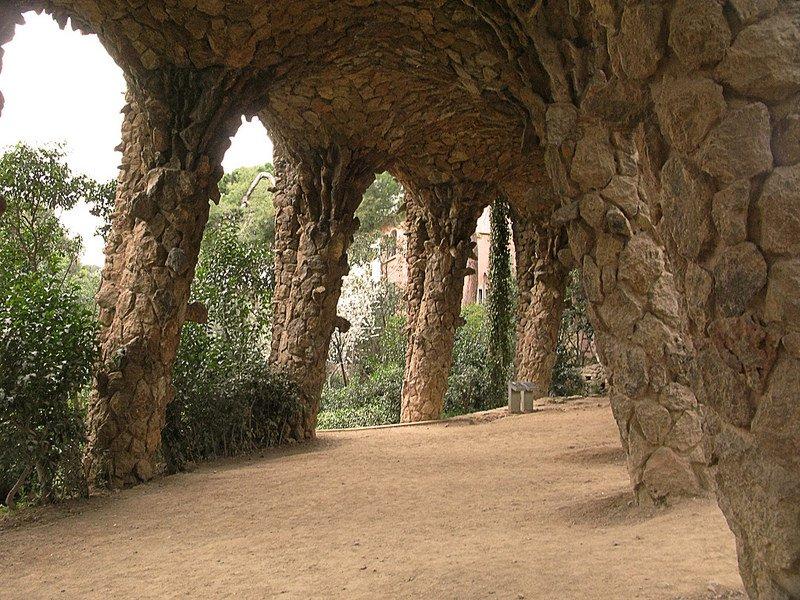 Уникальные туннели в парке