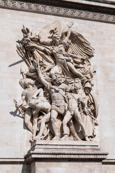 Скульптуры Триумфальной арки