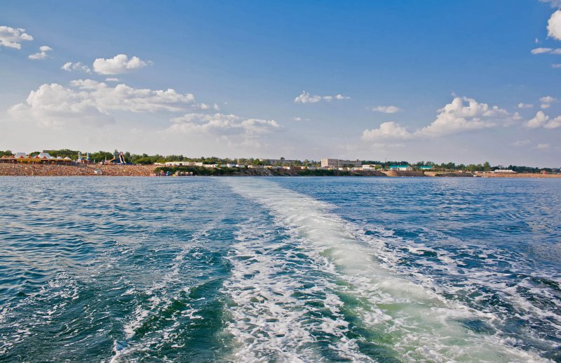 Вид на берег озера с катера | Silent SET | panoramio.com