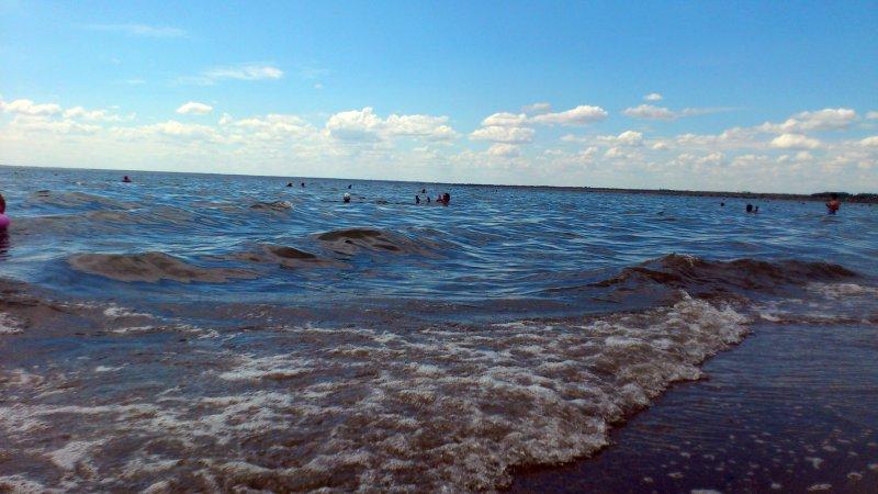 Волны на озере | fater2004 || panoramio.com
