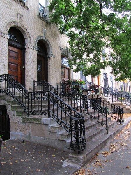 Улица в Гарлеме, Нью-Йорк