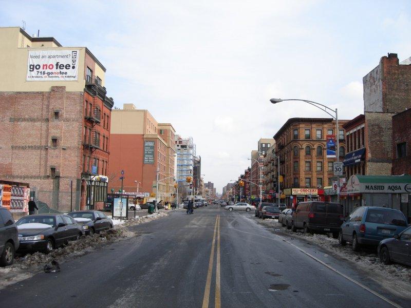 Гарлем в Нью-Йорке, США