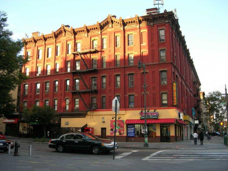 Здание в Гарлеме
