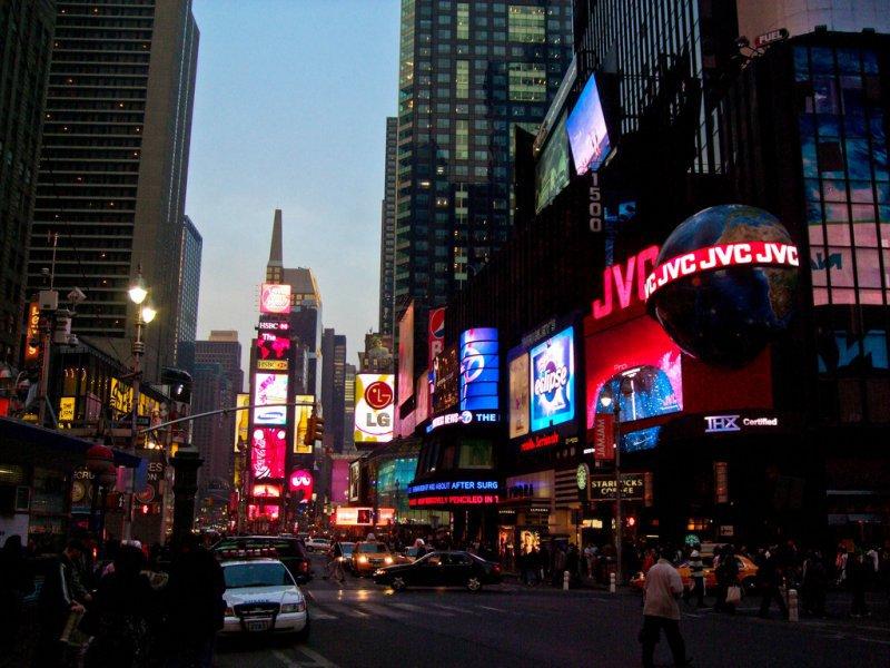 Знаменитый Бродвей, Нью-Йорк, США