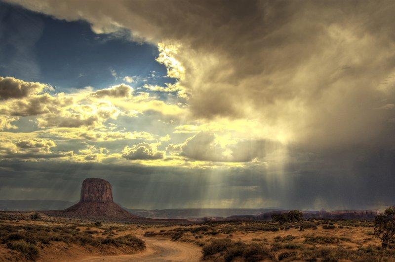 Вид на пустыню в Аризоне - 1