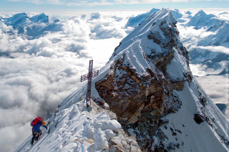 Вершина Маттерхорн, Альпы