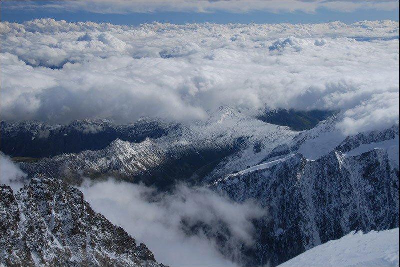 Гора Монблан, Альпы