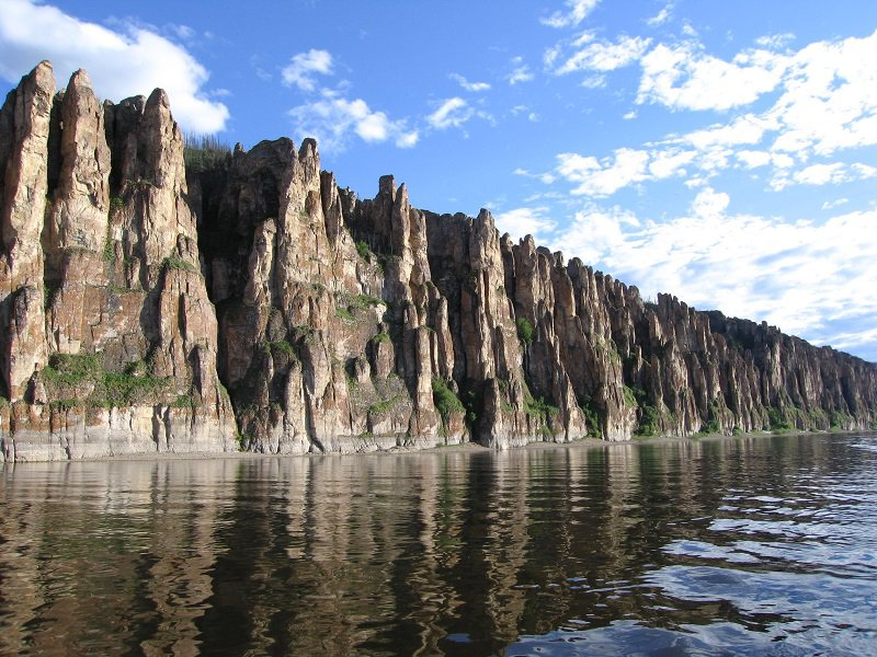 Каменный лес в Сибири на реке Лена - фото 8
