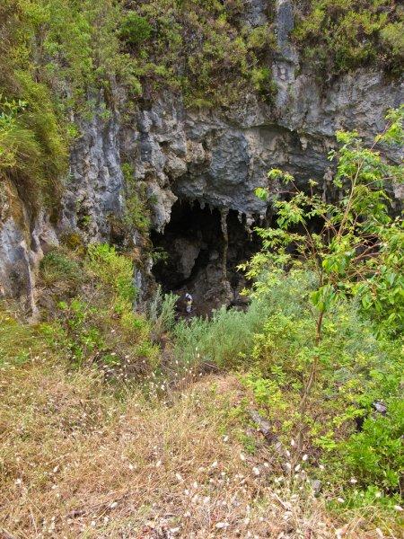 Вход в Мамонтову пещеру
