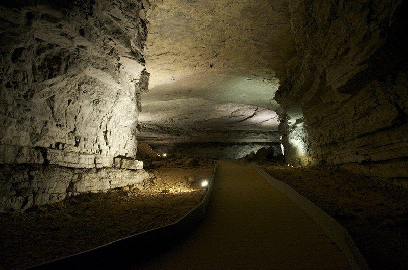 Тропа в Мамонтовой пещере
