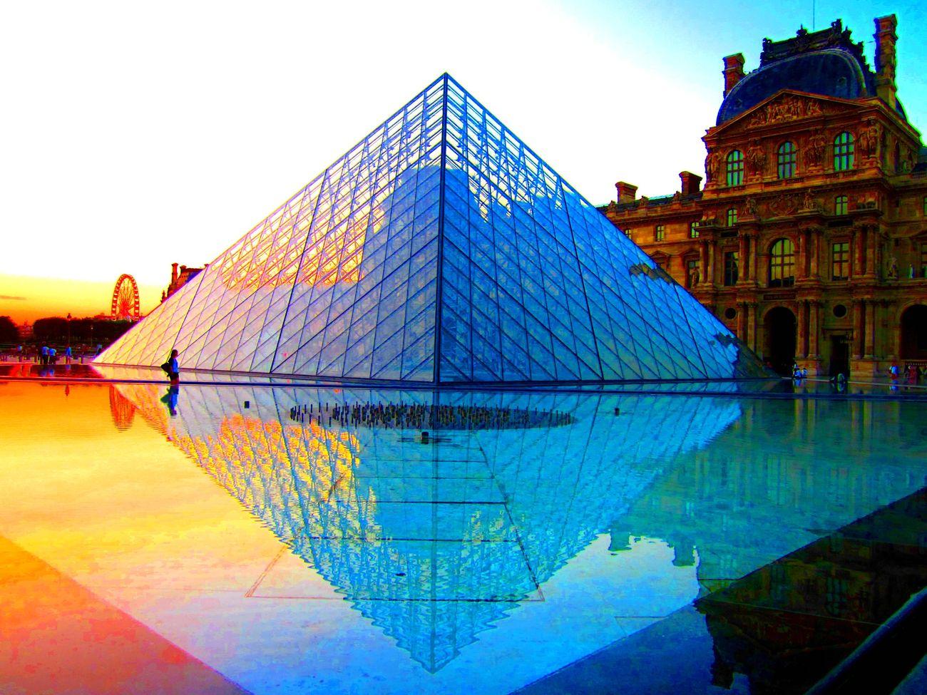 Пирамида на закате
