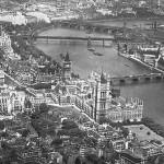 Вид на Вестминстер с высоты птичьего полета