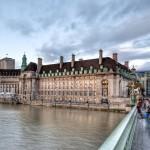 Вид с моста на Лондонский Глаз