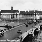 Старинная фотография Вестминстерского моста