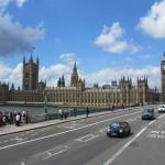 Вид на Вестминстерский мост и Дом Парламента