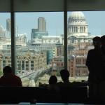 Лондон из окна галереи Тейт