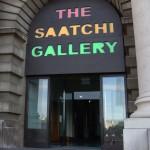 Главный вход в галерею Саатчи