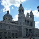 Вид на Собор Альмудена, Мадрид