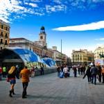 Вид на площадь Мадрида