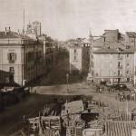Площадь Пуэрта-дель-Соль, 1857 год
