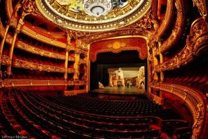 Зрительный зал Оперы Гарнье