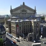 Вид сверху на Оперу Гарнье