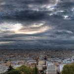 Вид на Париж с базилики Сакре-Кер