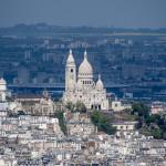 Вид на базилику Сакре-Кер
