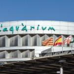 Здание океанариума Барселоны