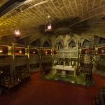 Склеп собора в Барселоне