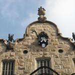 Верхняя часть фасада Дома Кальвет