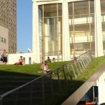 Отдыхающие Линкольн-центра