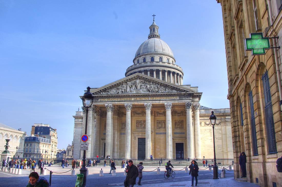 Собор Пантеон в Париже