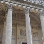 Архитектурные элементы Пантеона, Париж, Франция