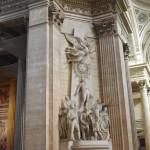Архитектурные украшения интерьера Пантеона