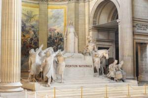 Скульптуры внутри Пантеона, Париж