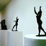 Скульптуры в музее Гуггенхайма