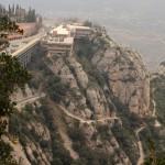 Вид на монастырь с горы
