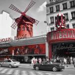 """""""Красная мельница"""" в Париже, Франция"""