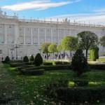 Сад перед Королевским дворцом, Испания