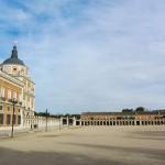 Площадь Королевского дворца в Мадриде