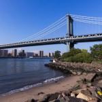 Вид на мост с берега