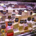 Сырная лавка, рынок в Барселоне