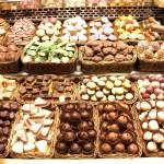 Шоколад в барселонском рынке