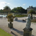 Водоем перед Люксембургским дворцом