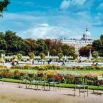 Сад перед Люксембургским дворцом