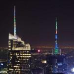 Вид на Нью-Йорк с Рокфеллер-центра