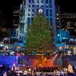 Рождественская елка в Рокфеллеровский центре